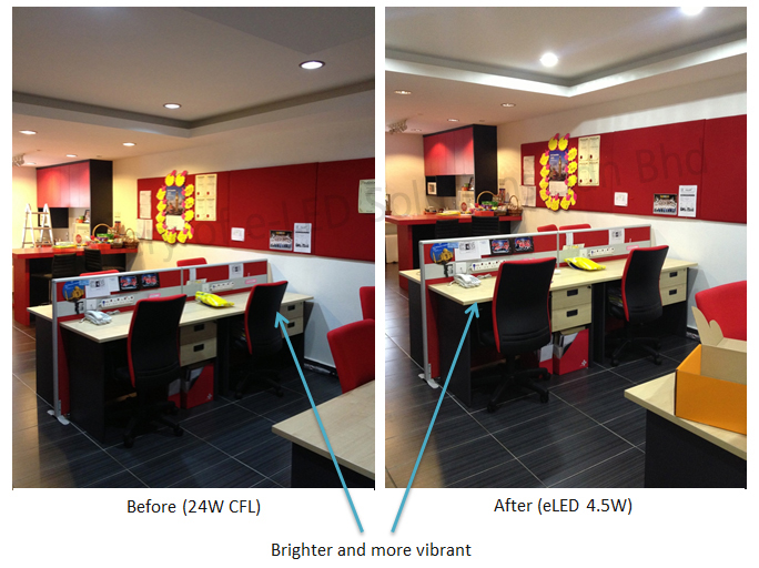 LED Projects - AIA Stalion Group Comparison