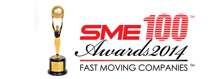 SME100 Fastest Moving Company Award 2014