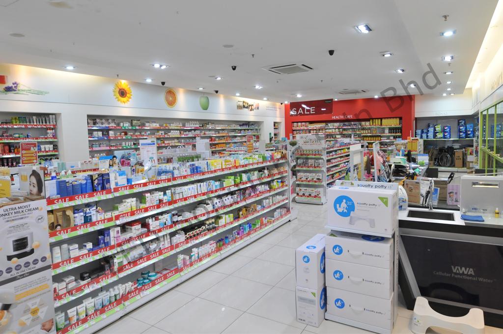 Vitacare Pharmacy @ Citta Mall (LED Projects)